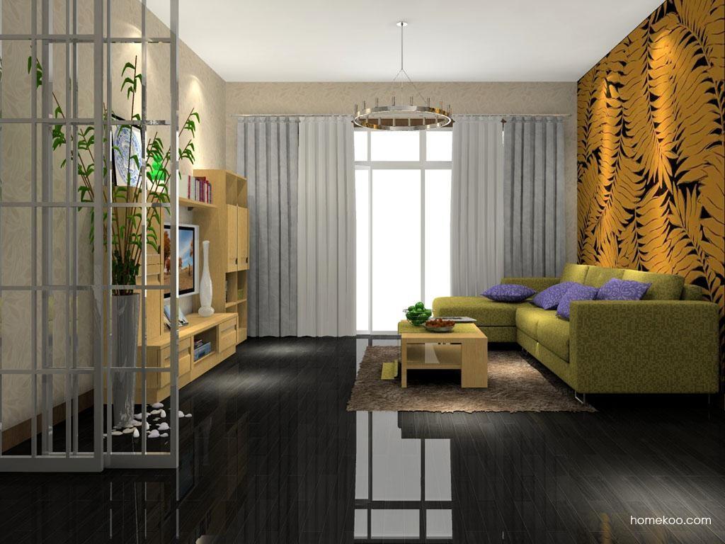 丹麦本色客厅家具D1392