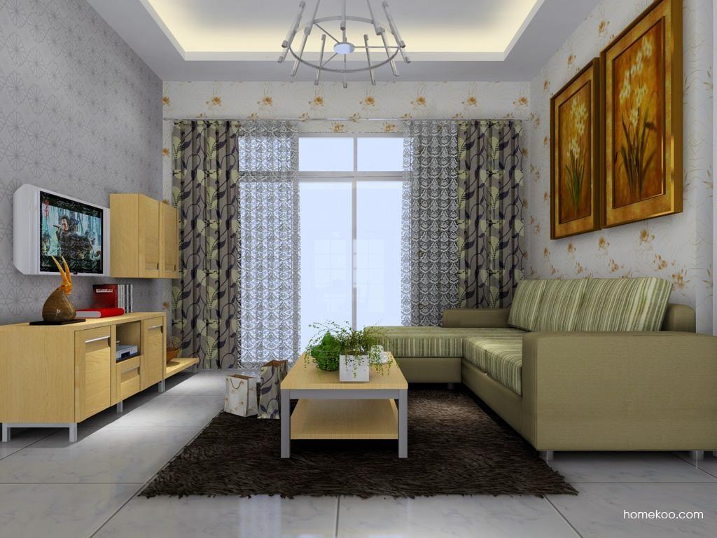 丹麦本色客厅家具D1379