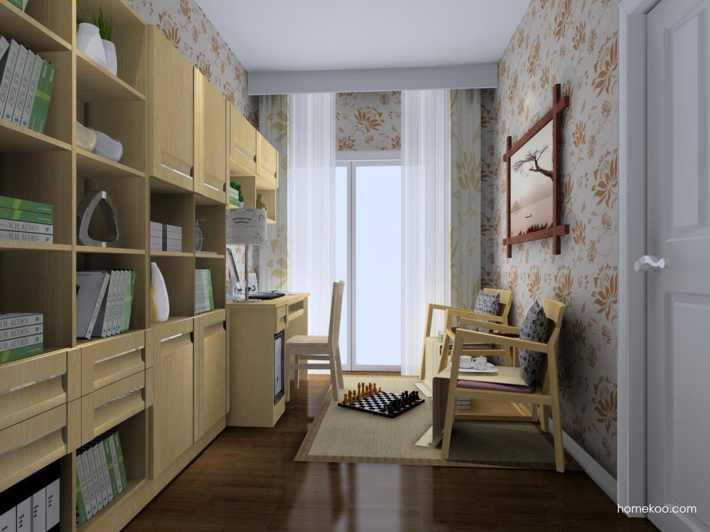 丹麦本色书房家具C4163