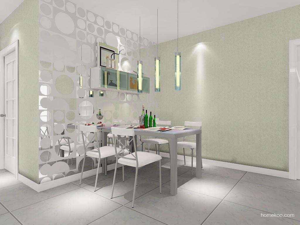 浪漫主义餐厅家具E1619