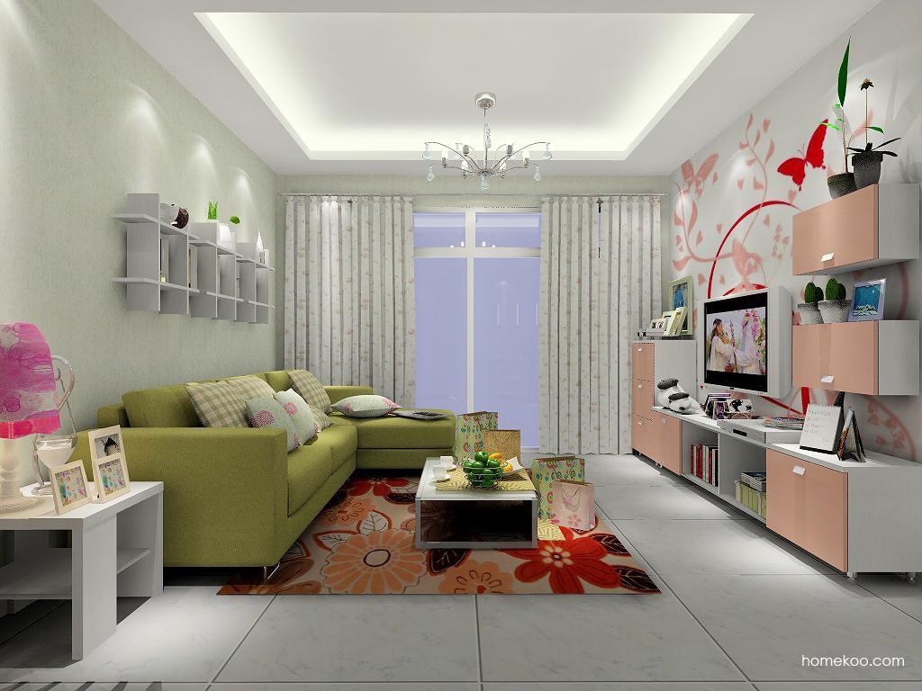 浪漫主义客厅家具D1390