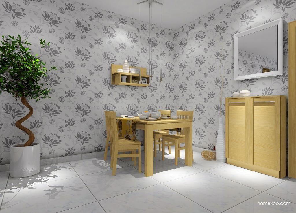 丹麦本色餐厅家具E1636