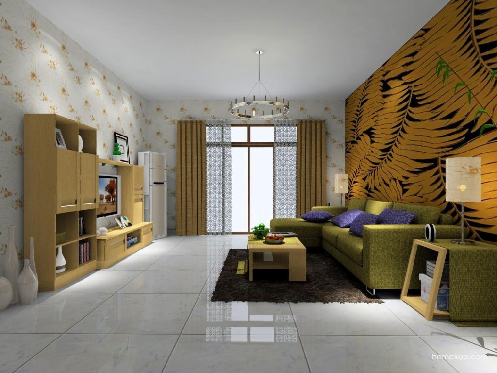 丹麦本色客厅家具D1412