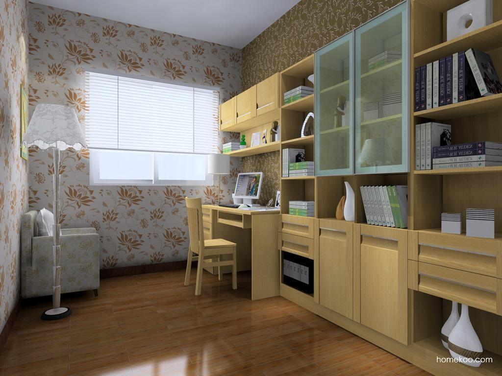 丹麦本色书房家具C4184