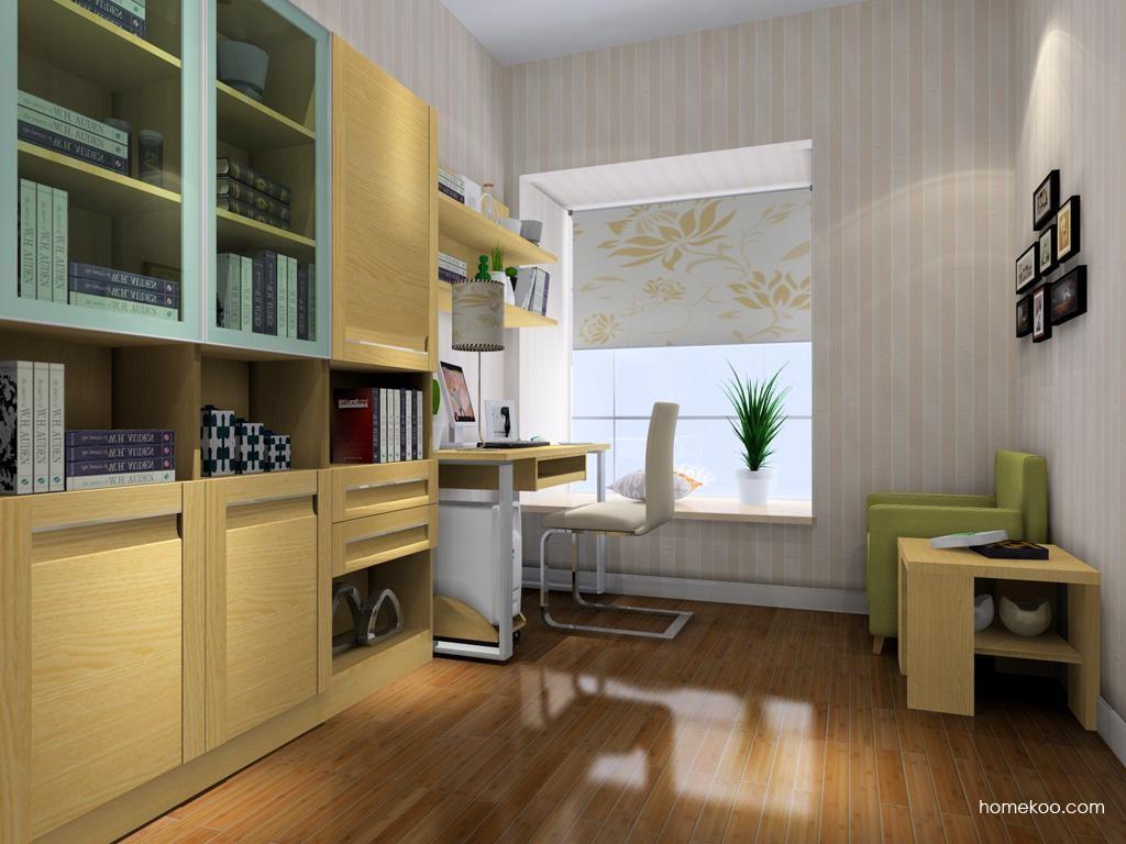 丹麦本色书房家具C4180
