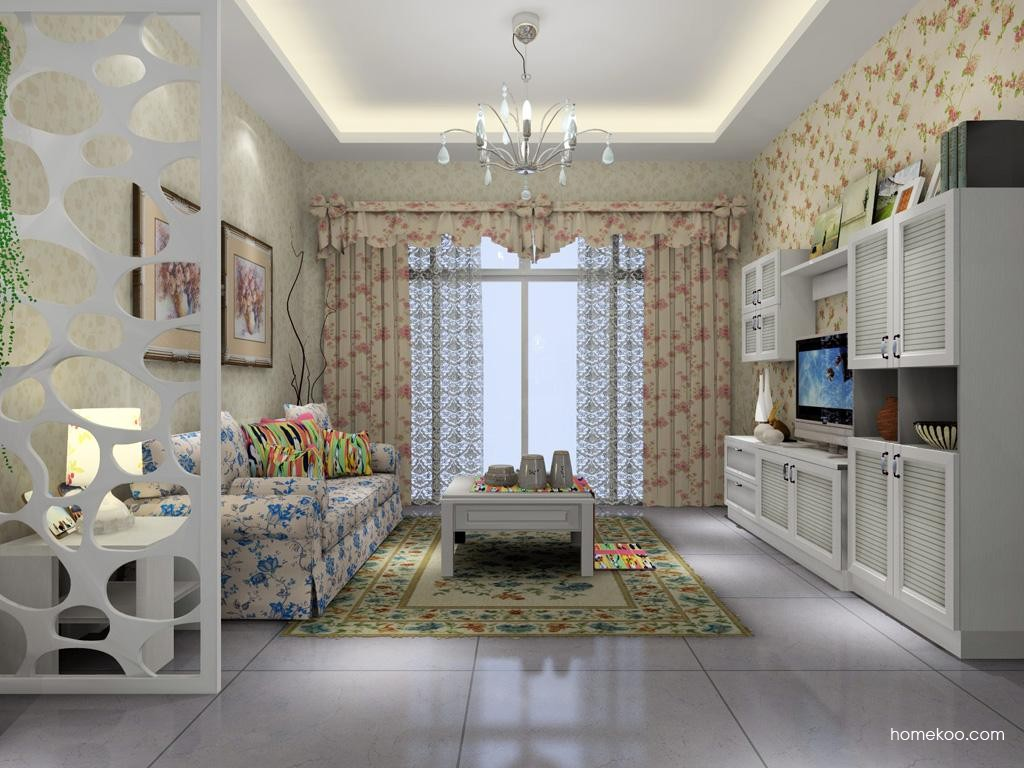 韩式田园客厅家具D1403