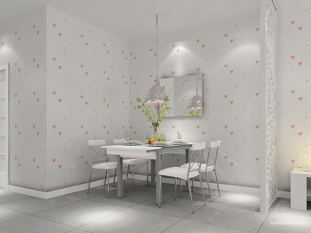 浪漫主义餐厅家具E1629