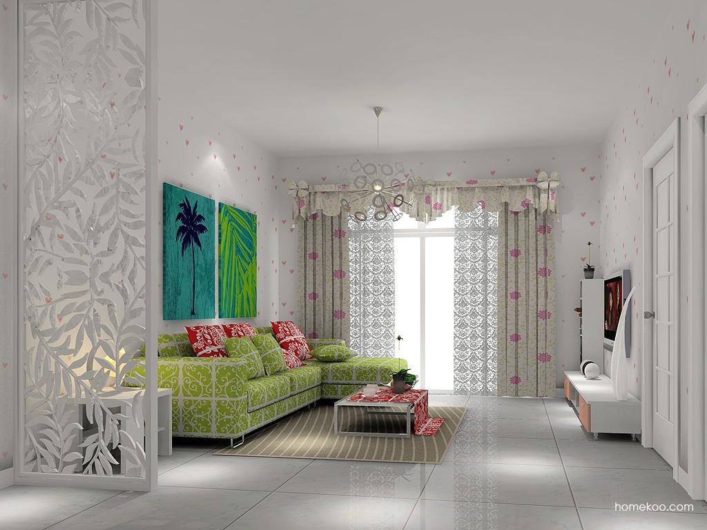 浪漫主义客厅家具D1400