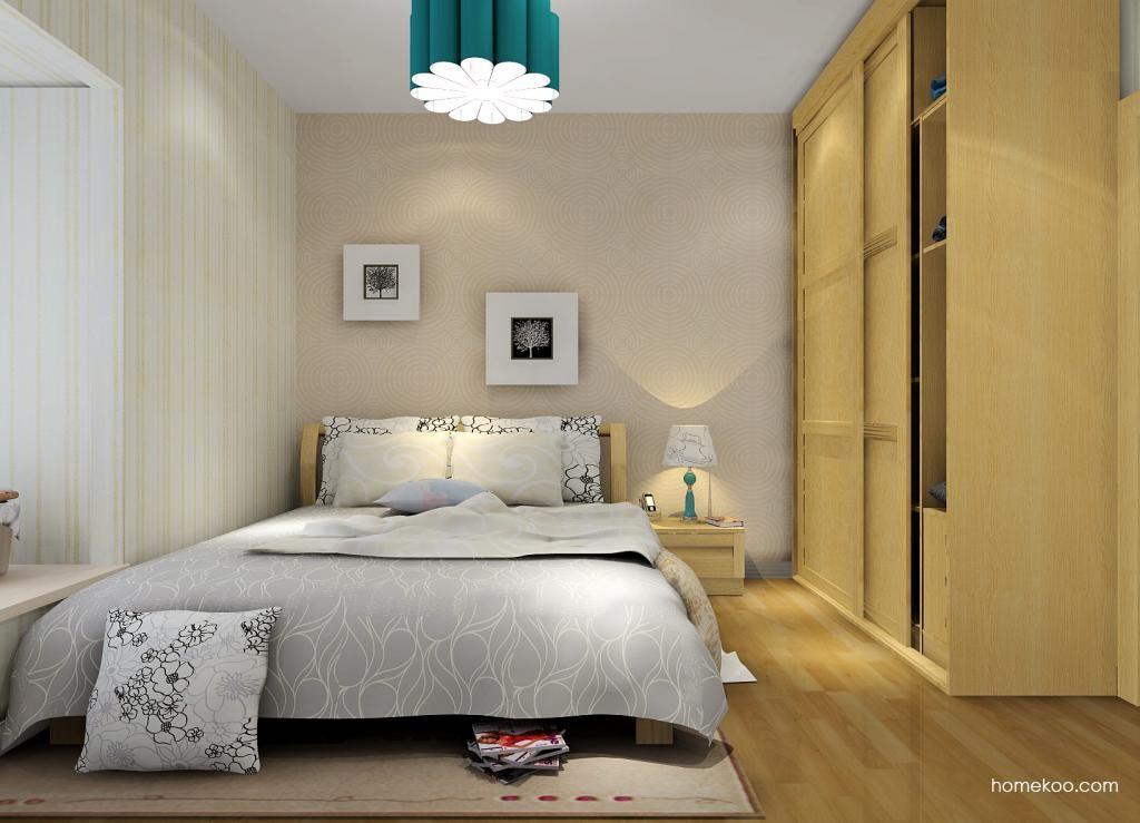 丹麦本色卧房家具A7107