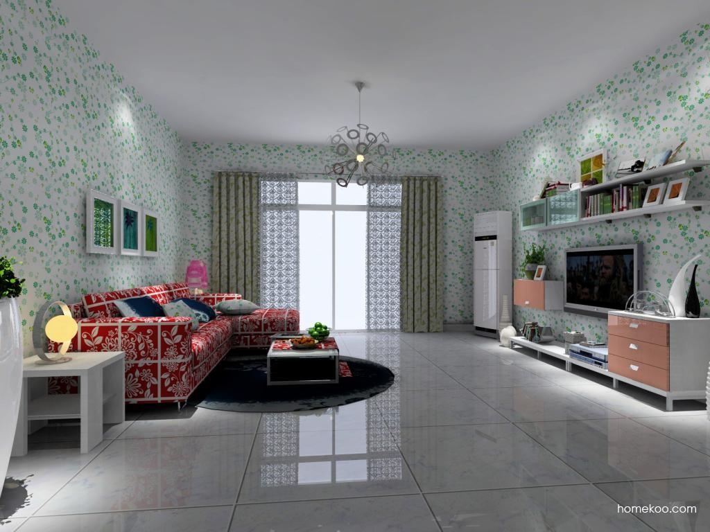 浪漫主义客厅家具D1414