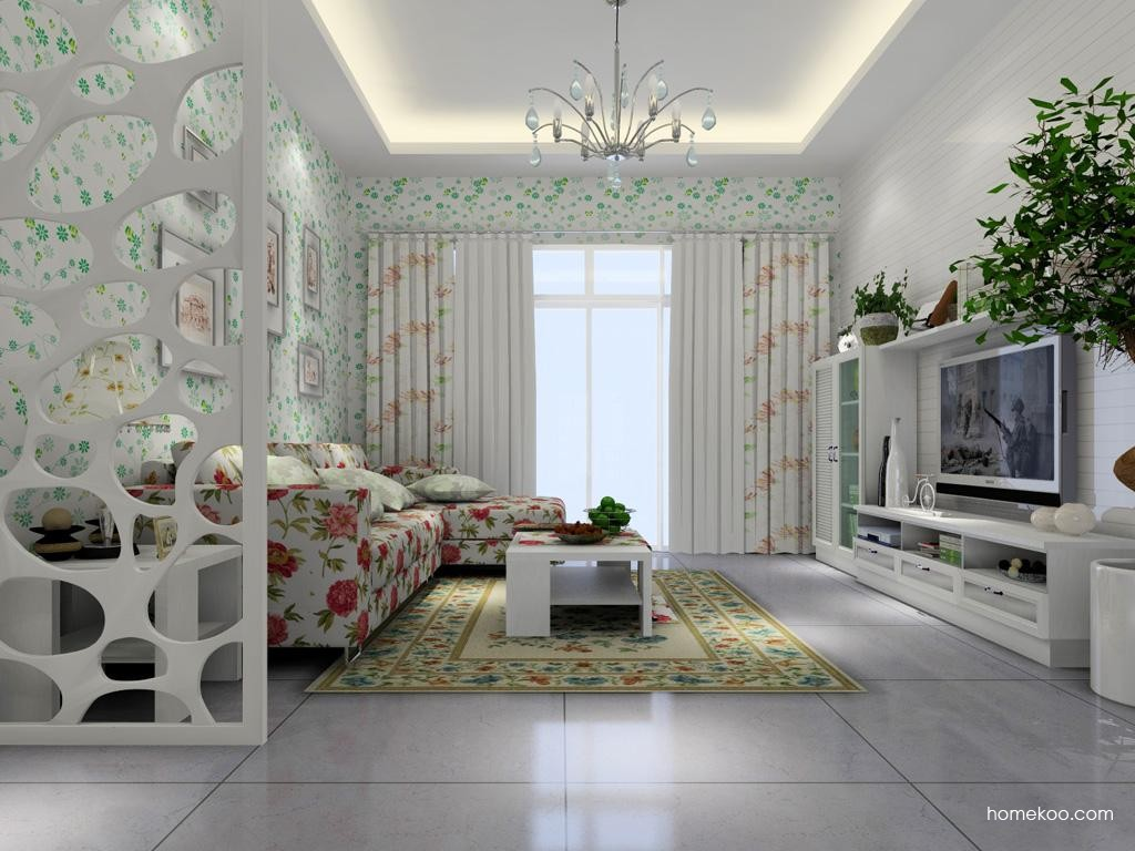 韩式田园客厅家具D1413