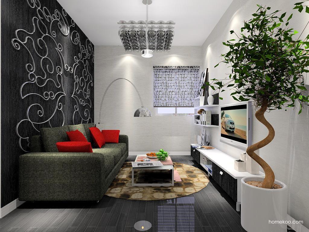简约主义客厅家具D6862