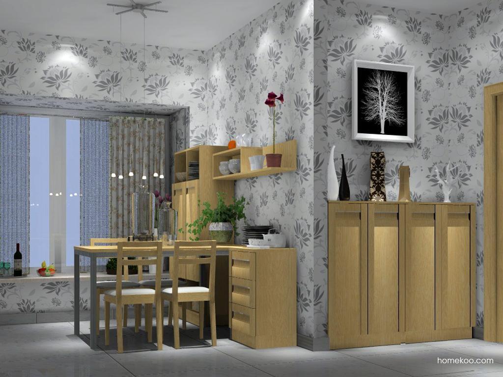 丹麦本色餐厅家具E1661