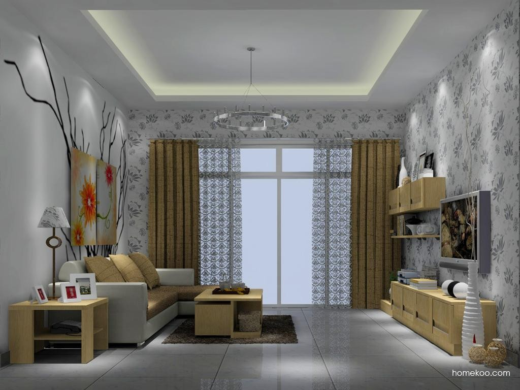 丹麦本色客厅家具D6861