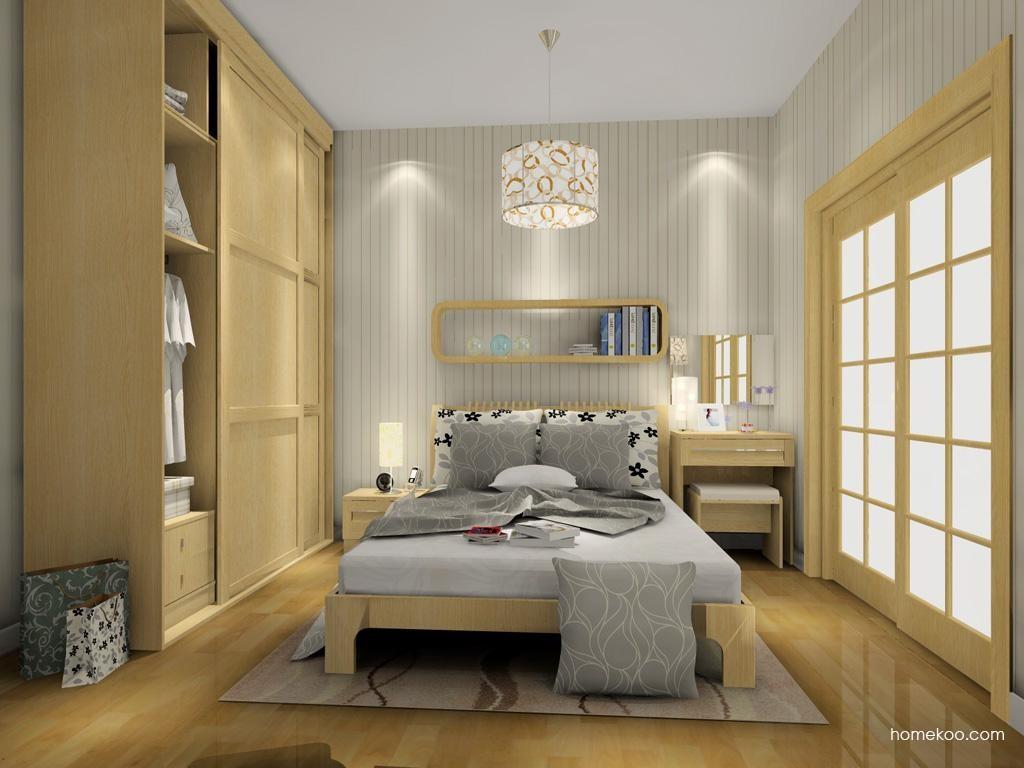 丹麦本色卧房家具A7123