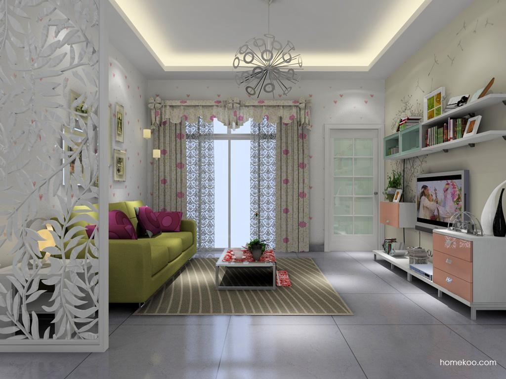 浪漫主义客厅家具D1431