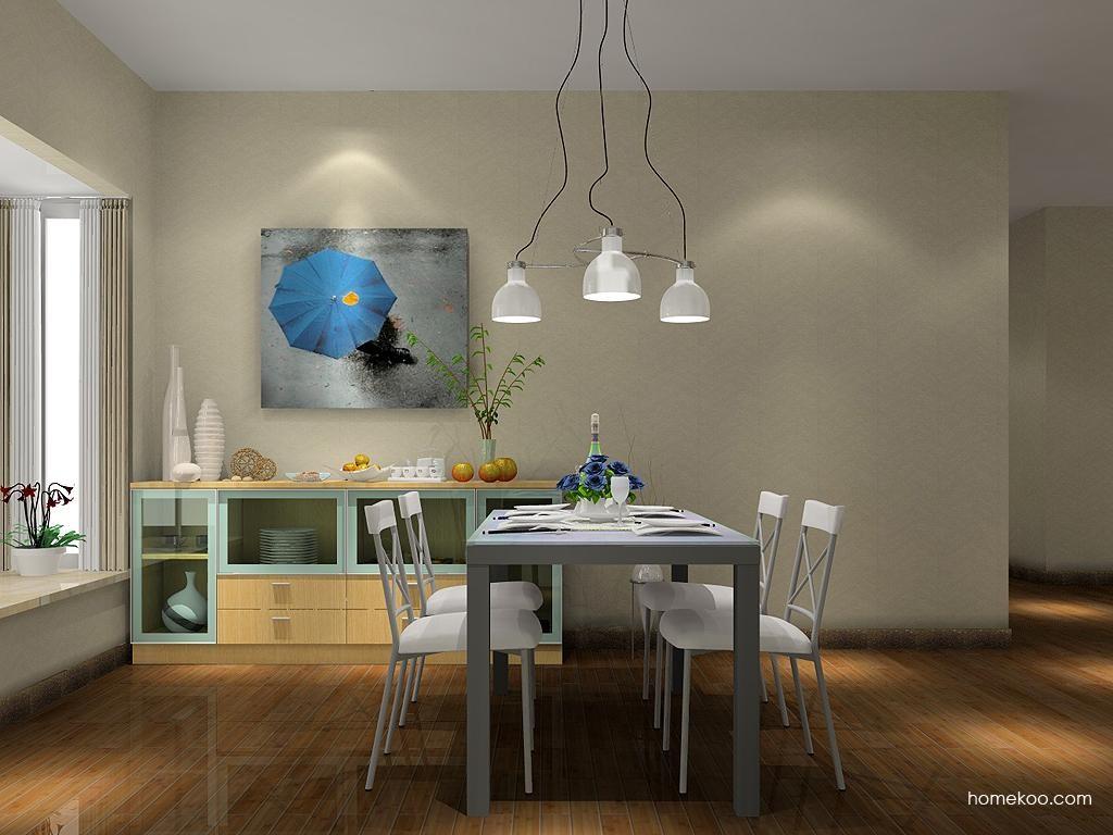 新实用主义餐厅家具E1673
