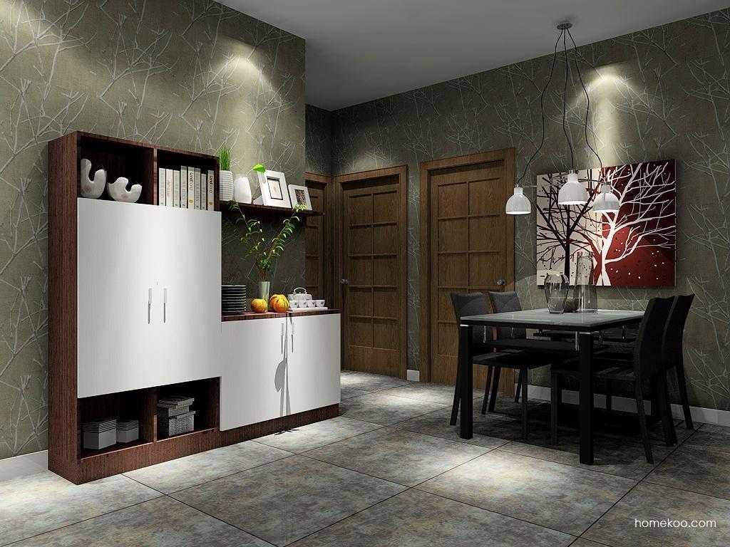 新实用主义餐厅家具E1671