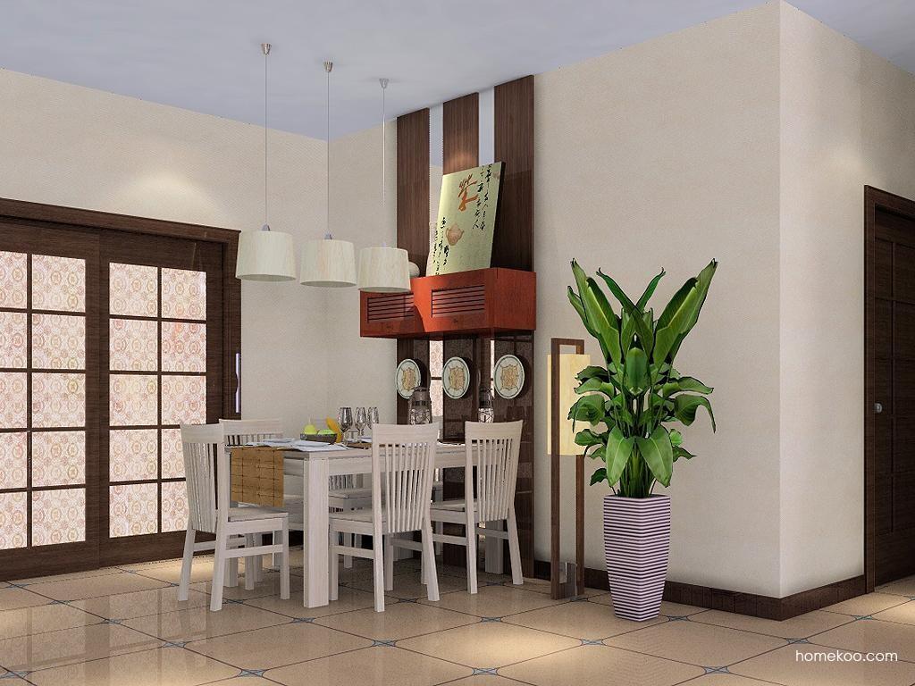 新中式主义餐厅家具E1670