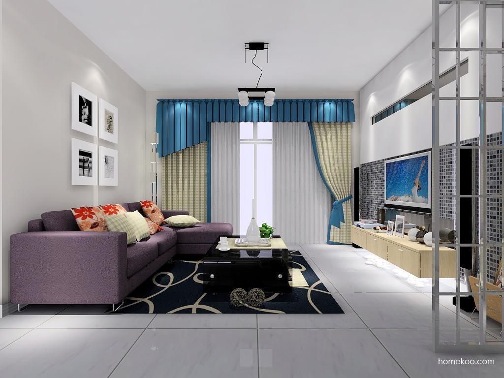 新实用主义客厅家具D6913