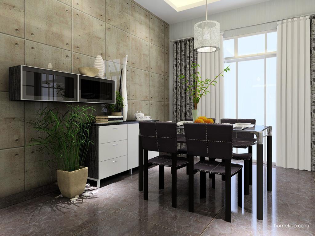 简约主义餐厅家具E1699