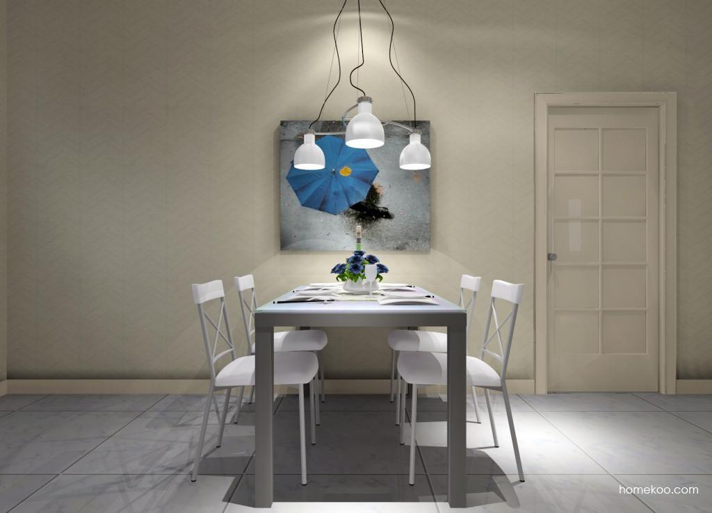 新实用主义餐厅家具E1701