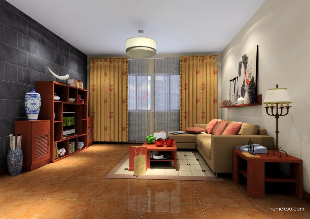 新中式主义客厅家具D6901
