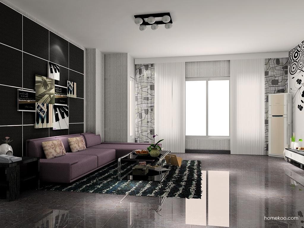 简约主义客厅家具D6929
