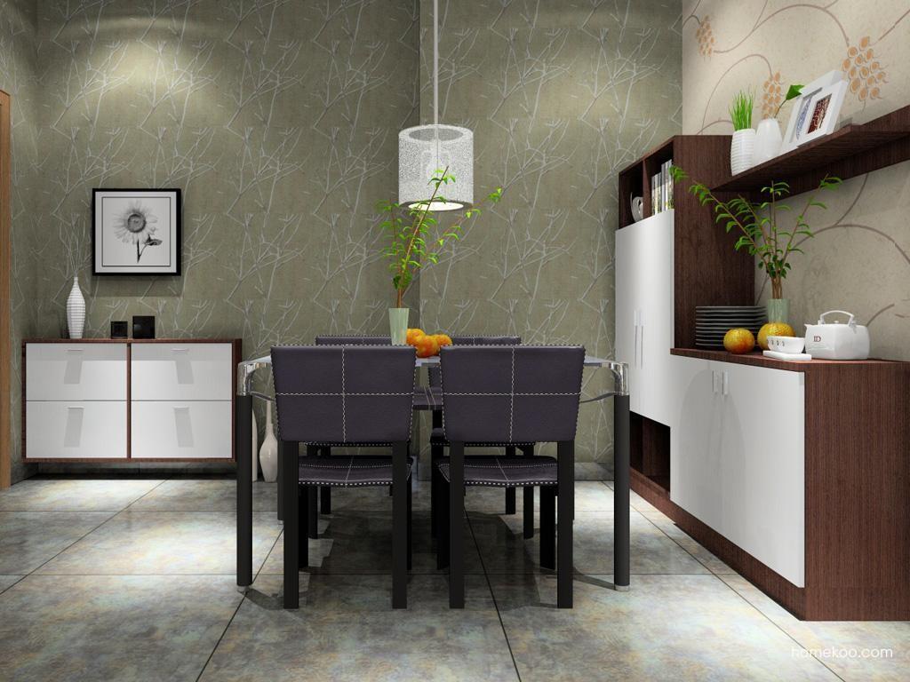 新实用主义餐厅家具E1722
