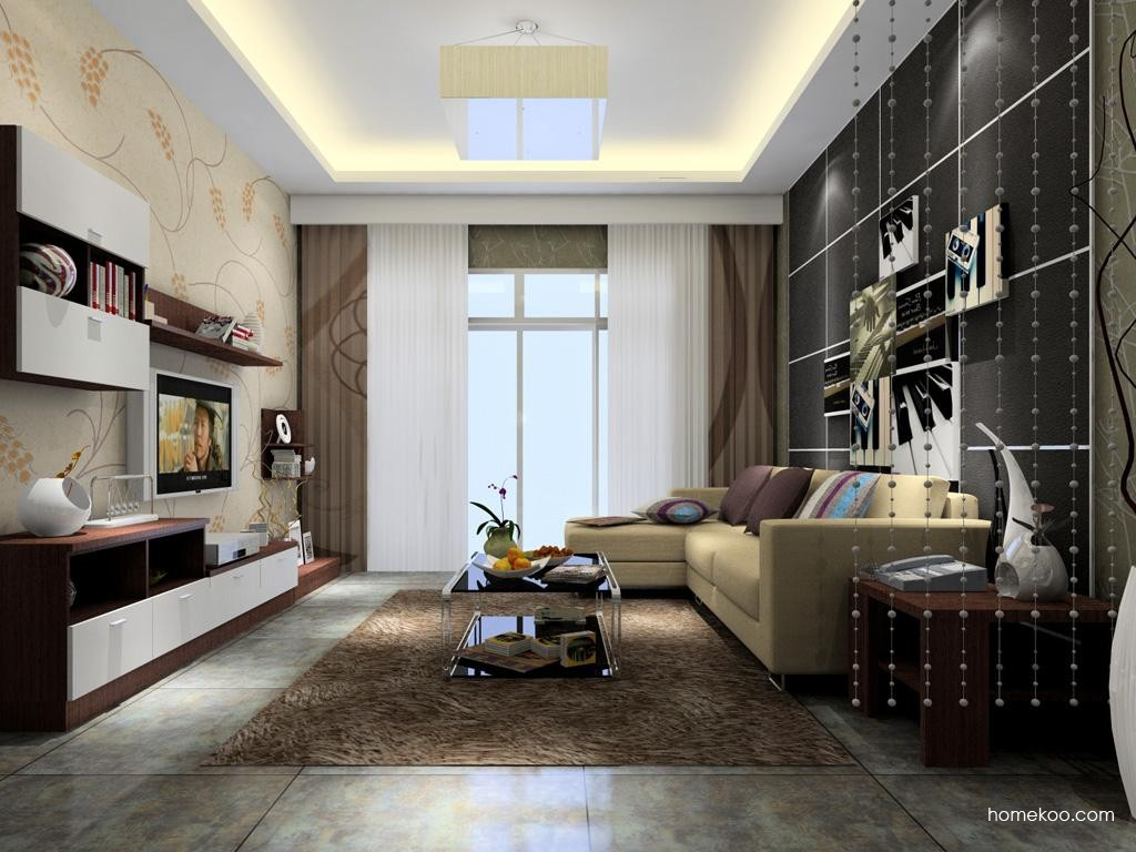 新实用主义客厅家具D6921