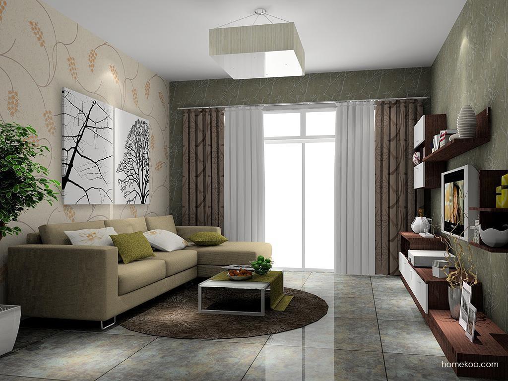 新实用主义客厅家具D6928