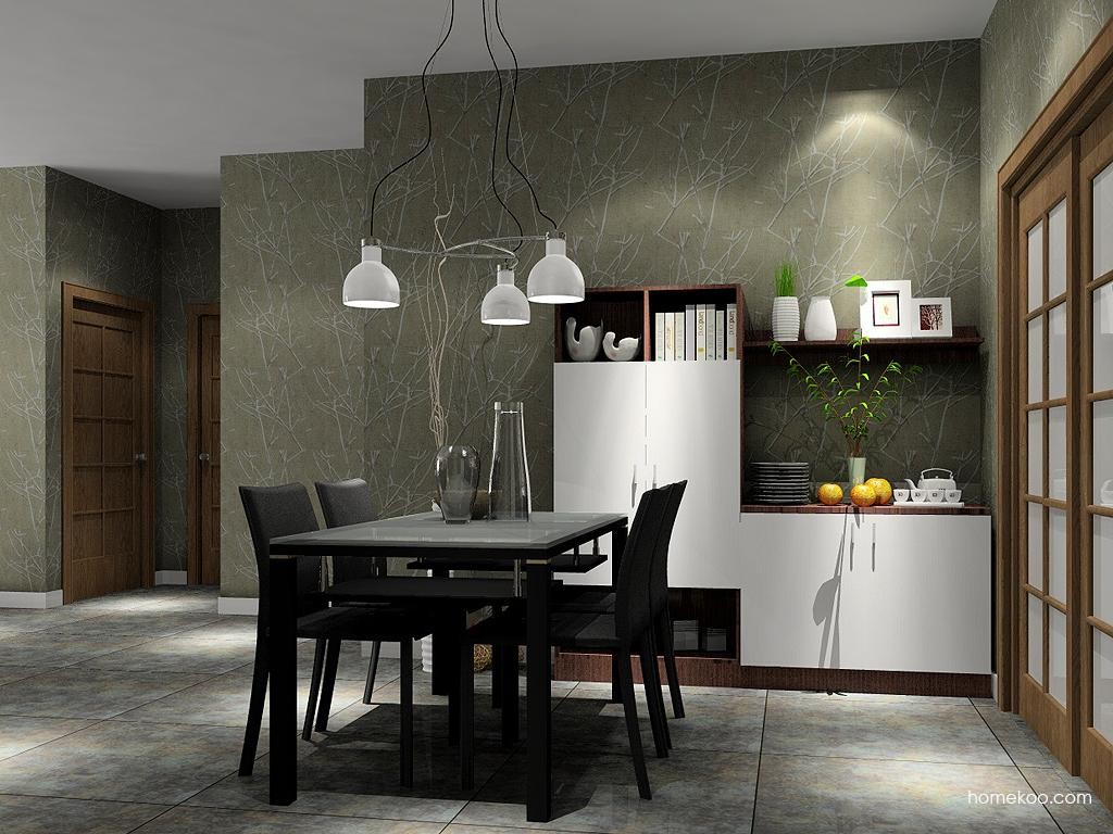 新实用主义餐厅家具E1728