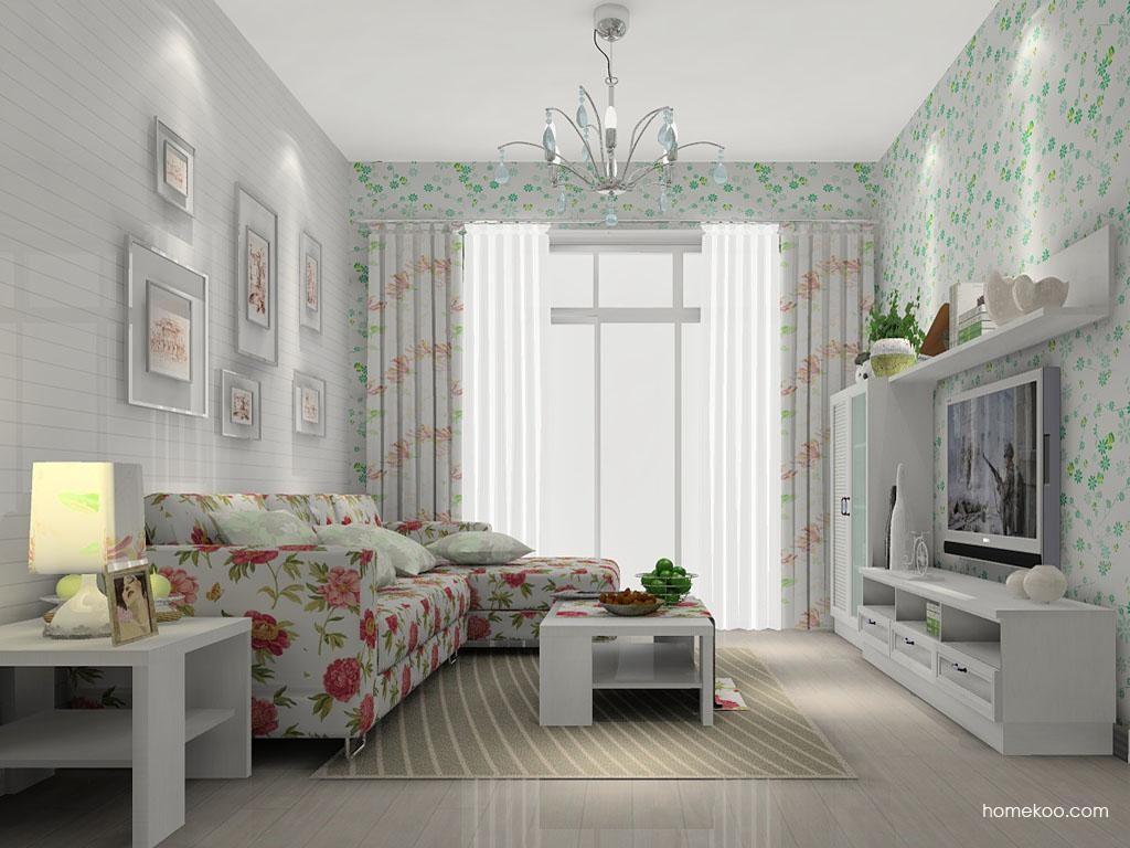 韩式田园客厅家具D6914