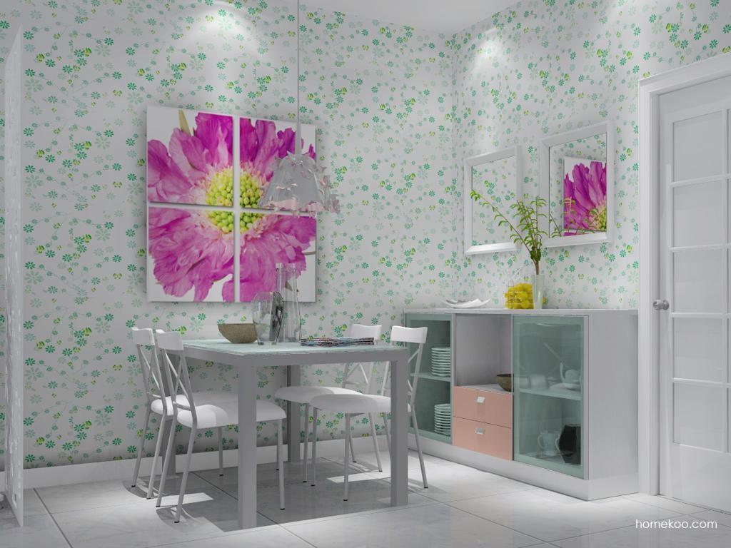 浪漫主义餐厅家具E1717