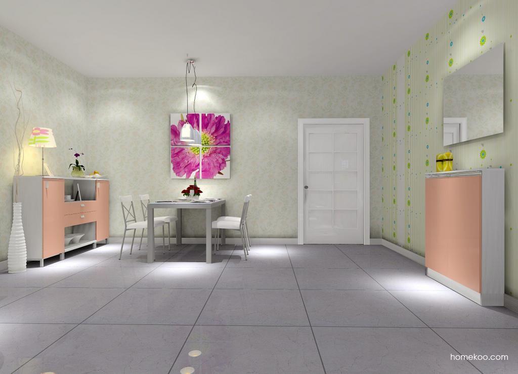 浪漫主义餐厅家具E1734
