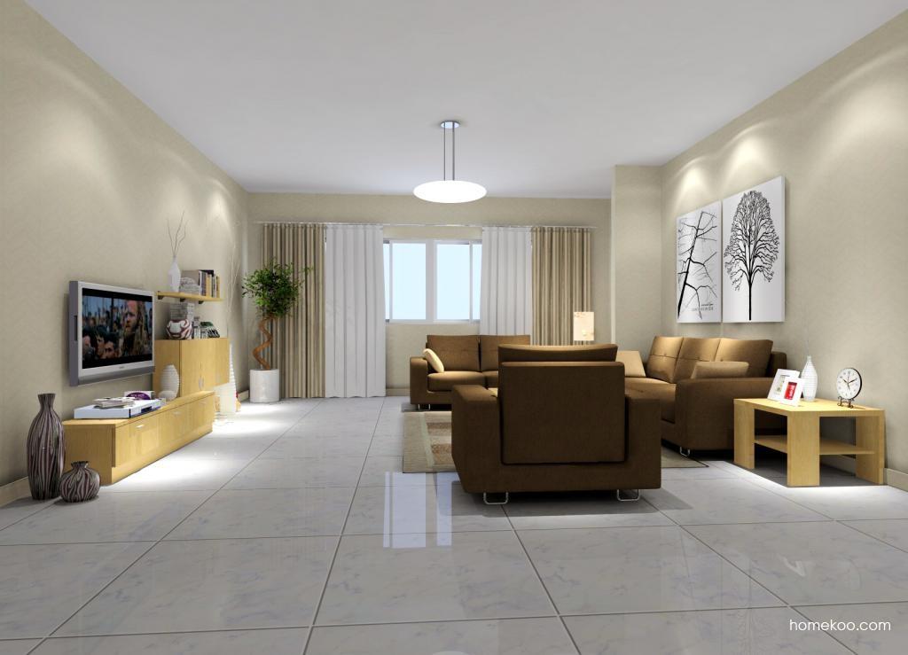 新实用主义客厅家具D6935