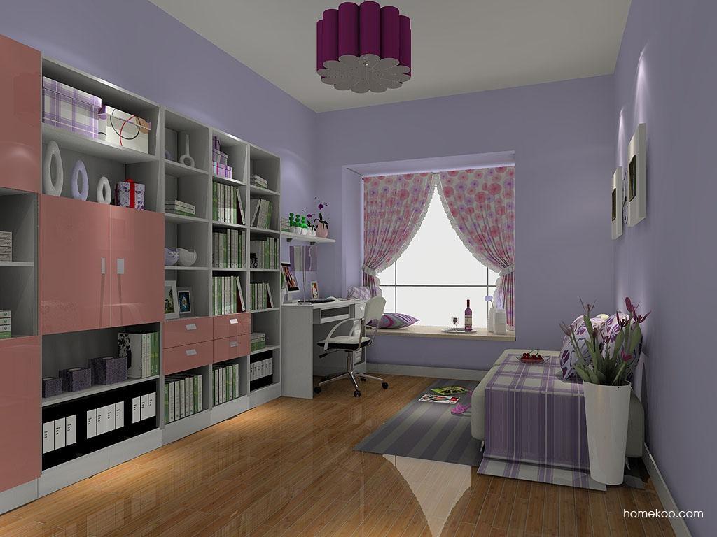 浪漫主义书房家具C4223
