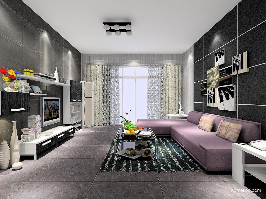 简约主义客厅家具D6957