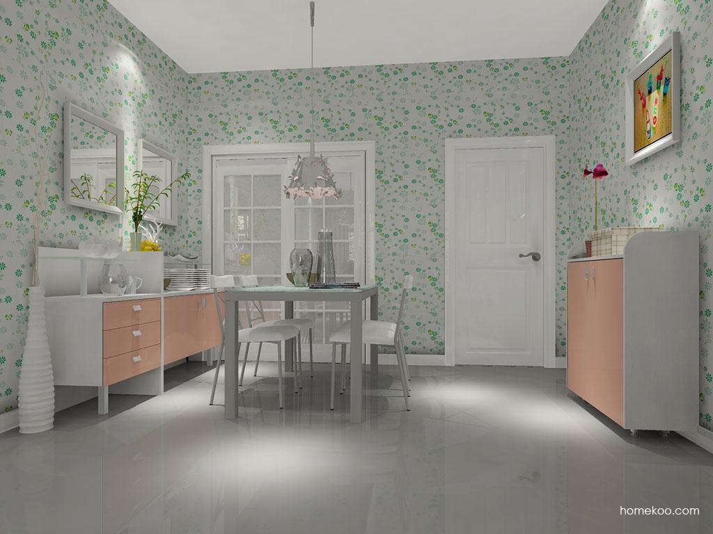 浪漫主义餐厅家具E1759