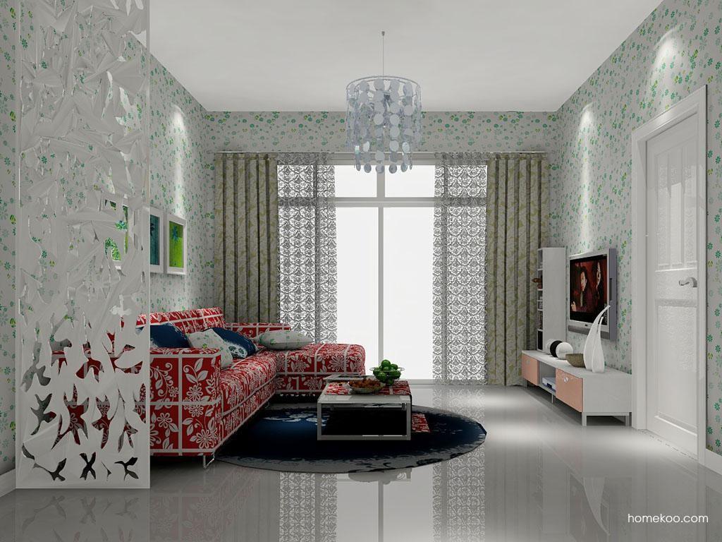 浪漫主义客厅家具D6958