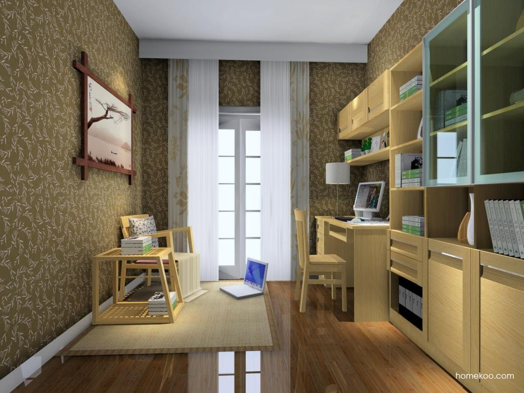 丹麦本色书房家具C4253