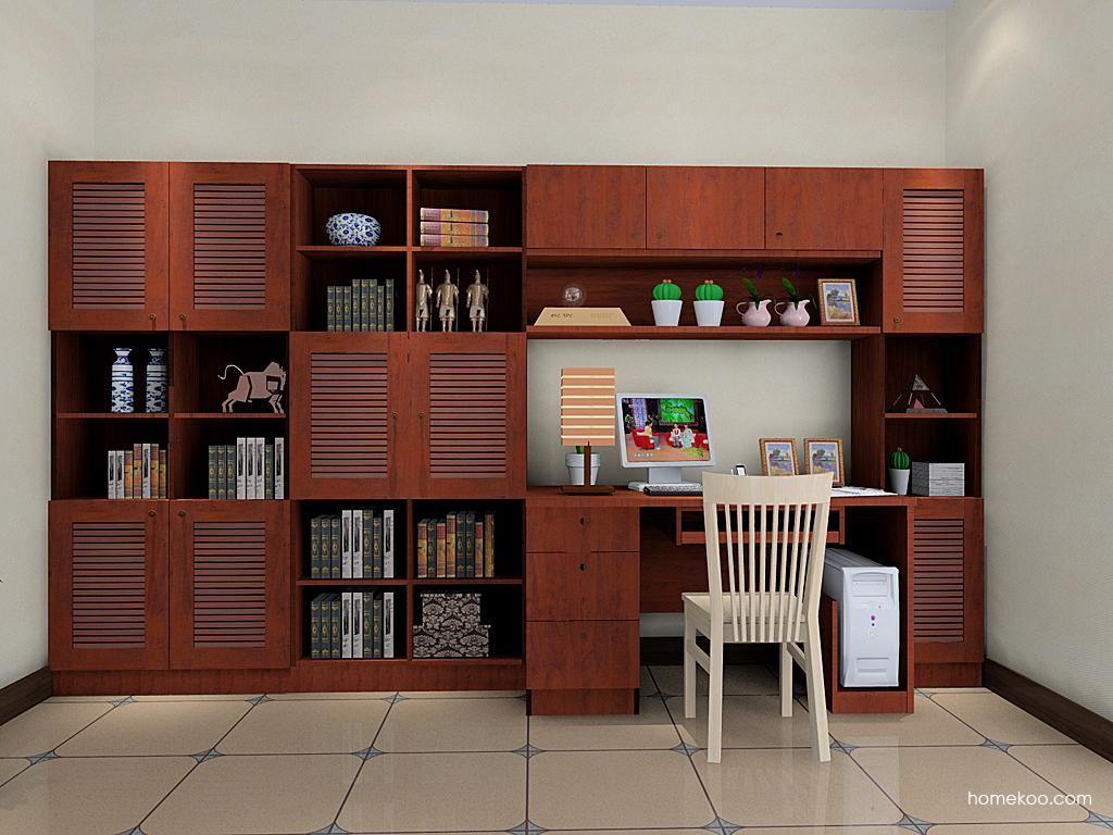 新中式主义书房家具C4250