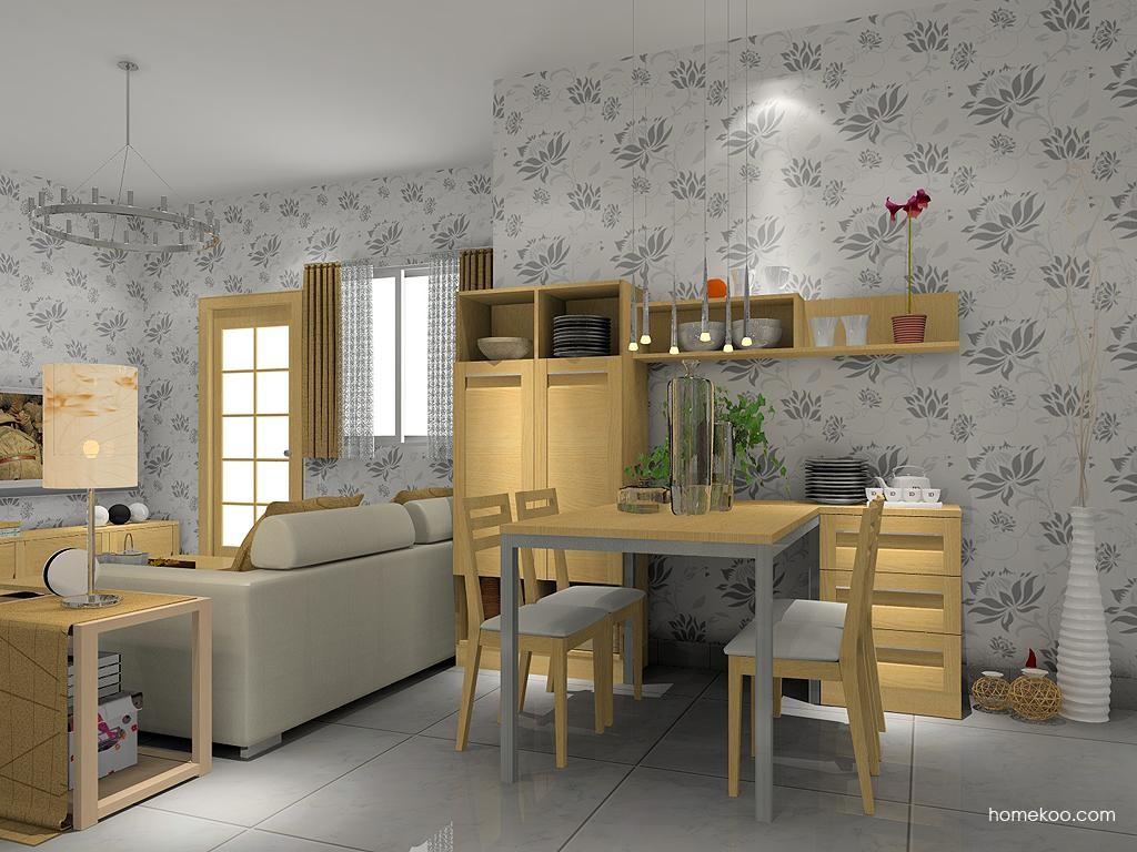 丹麦本色餐厅家具E1767