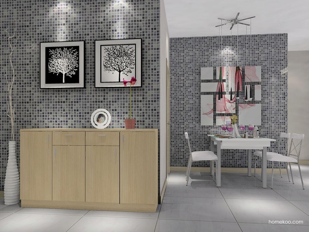 新实用主义餐厅家具E1771