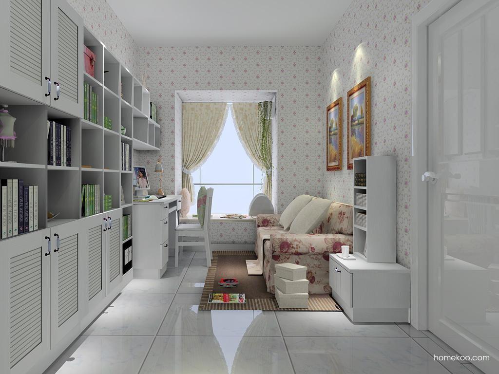 韩式田园书房家具C4259