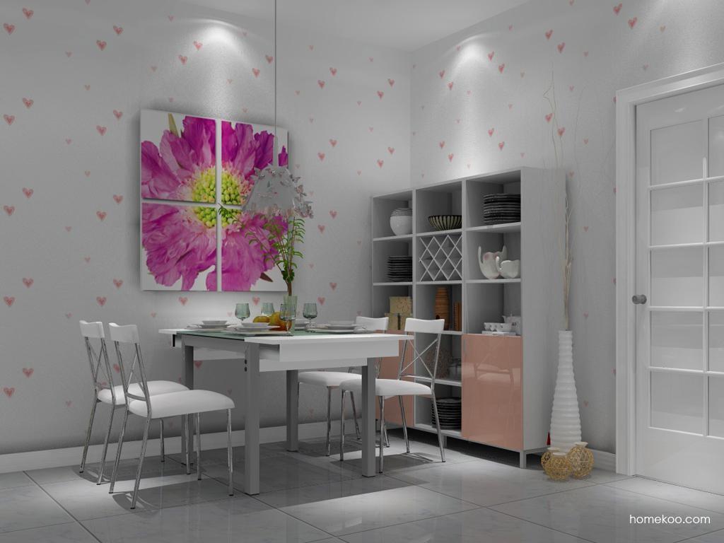 浪漫主义餐厅家具E1773