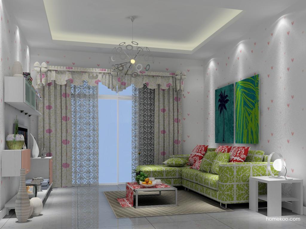 浪漫主义客厅家具D6971