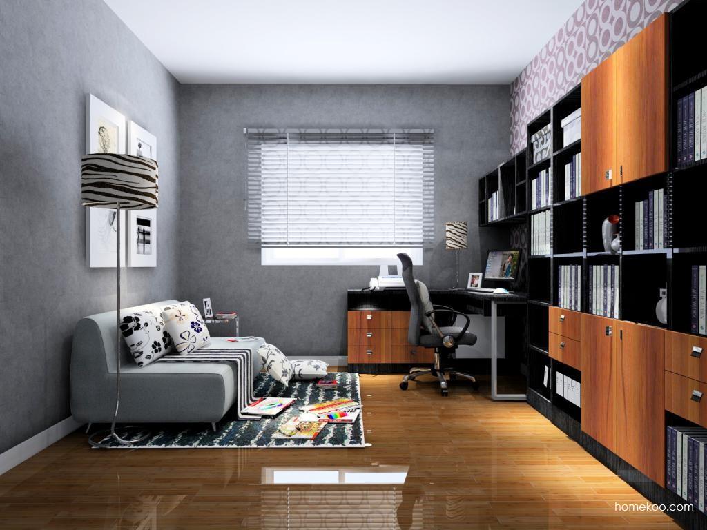德国森林书房家具C4273