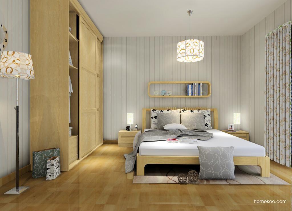 丹麦本色卧房家具A7266