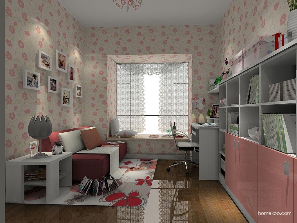 浪漫主义书房家具C4279